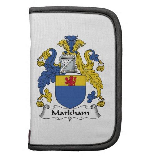 Escudo de la familia de Markham Planificador
