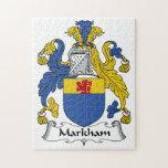 Escudo de la familia de Markham Puzzle
