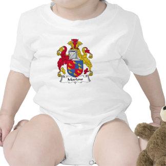 Escudo de la familia de Marlow Trajes De Bebé