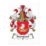 Escudo de la familia de Marquart Postal