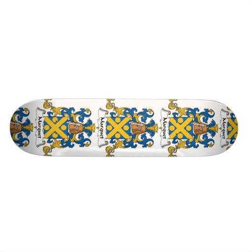 Escudo de la familia de Marquet Tablas De Skate