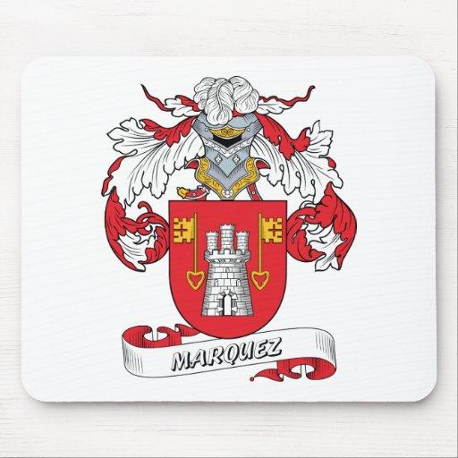 Escudo de la familia de Marquez Alfombrillas De Raton