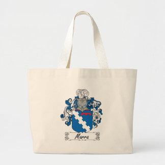 Escudo de la familia de Marra Bolsa Lienzo