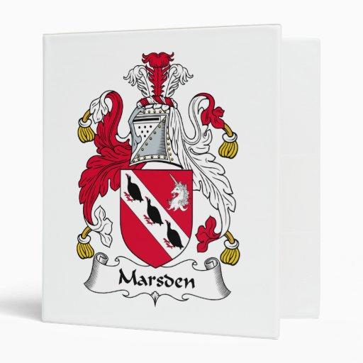 Escudo de la familia de Marsden