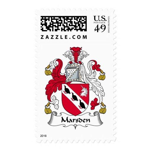 Escudo de la familia de Marsden Envio