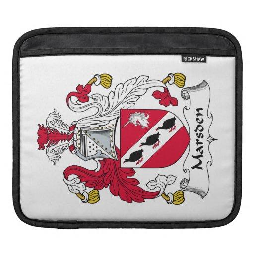Escudo de la familia de Marsden Funda Para iPads