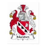 Escudo de la familia de Marsden Postal