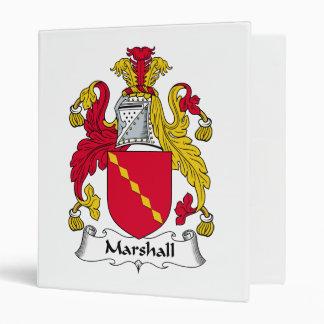 Escudo de la familia de Marshall