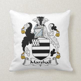 Escudo de la familia de Marshall Cojín Decorativo