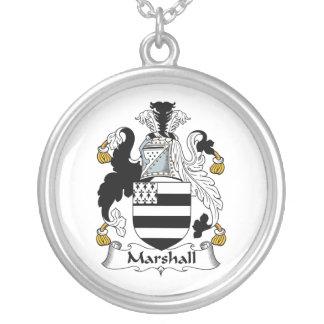 Escudo de la familia de Marshall Colgante Redondo