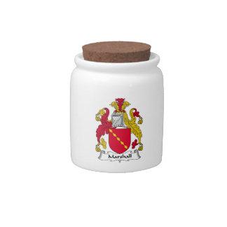 Escudo de la familia de Marshall Platos Para Caramelos
