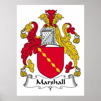 Escudo de la familia de Marshall Impresiones