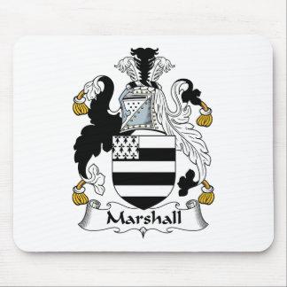 Escudo de la familia de Marshall Mouse Pads