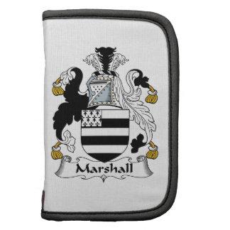 Escudo de la familia de Marshall Organizador
