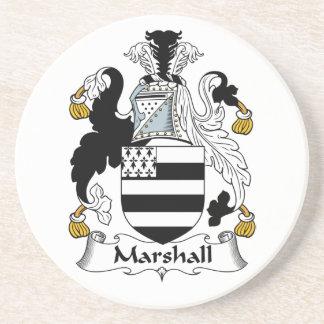Escudo de la familia de Marshall Posavasos Manualidades