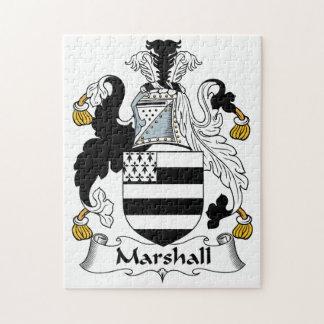 Escudo de la familia de Marshall Puzzles Con Fotos