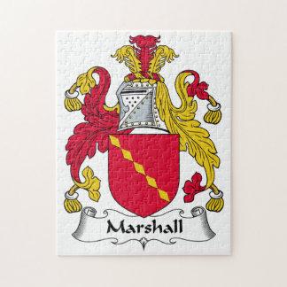 Escudo de la familia de Marshall Rompecabeza