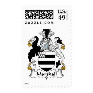 Escudo de la familia de Marshall Sellos