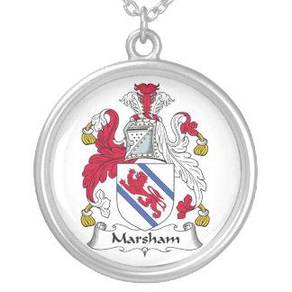 Escudo de la familia de Marsham Joyería