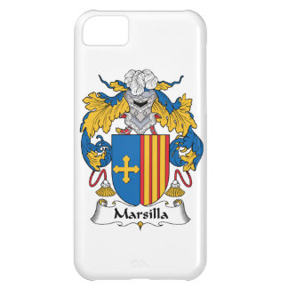 Escudo de la familia de Marsilla Funda Para iPhone 5C