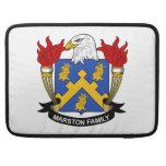 Escudo de la familia de Marston Fundas Para Macbook Pro