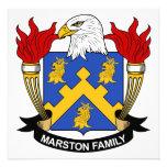 Escudo de la familia de Marston Anuncios Personalizados