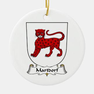 Escudo de la familia de Martdorf Ornato