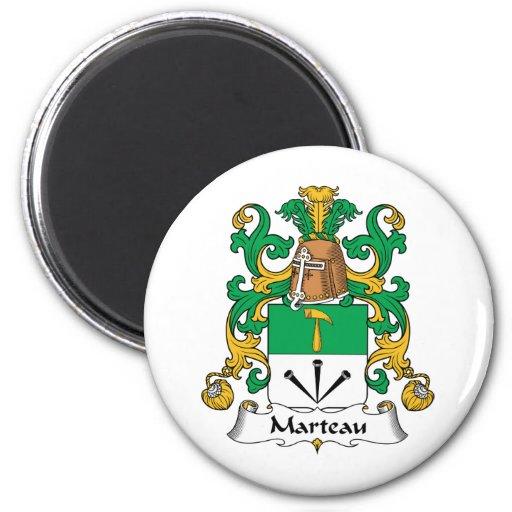 Escudo de la familia de Marteau Iman De Nevera