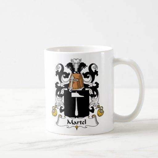 Escudo de la familia de Martel Taza