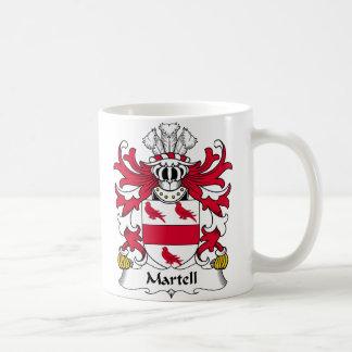 Escudo de la familia de Martell Taza Básica Blanca