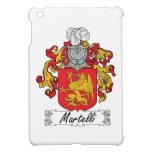 Escudo de la familia de Martelli iPad Mini Carcasas