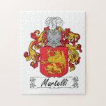 Escudo de la familia de Martelli Puzzles