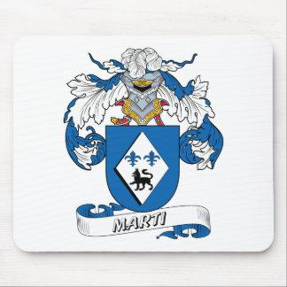 Escudo de la familia de Marti Alfombrillas De Raton