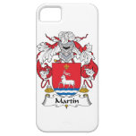 Escudo de la familia de Martin iPhone 5 Case-Mate Cobertura