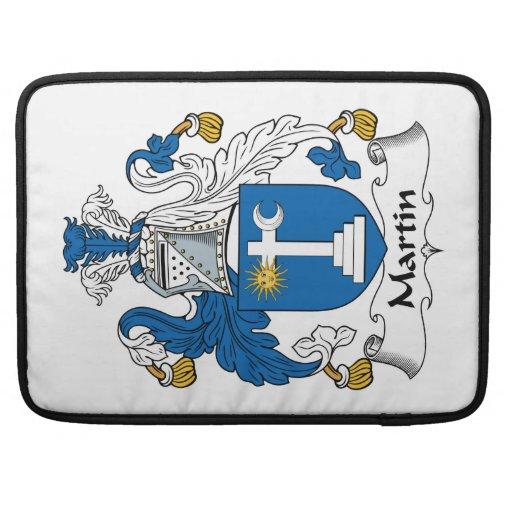 Escudo de la familia de Martin Funda Para Macbook Pro