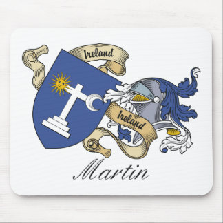 Escudo de la familia de Martin Mousepads
