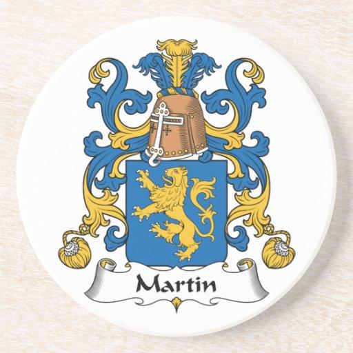 Escudo de la familia de Martin Posavasos Manualidades