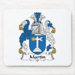 Escudo de la familia de Martin Tapete De Ratón