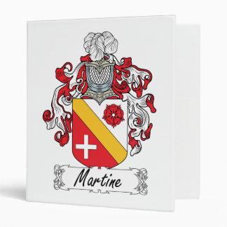 Escudo de la familia de Martine