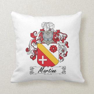 Escudo de la familia de Martine Cojines