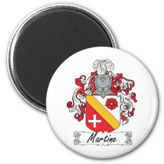 Escudo de la familia de Martine Imán De Frigorifico