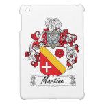 Escudo de la familia de Martine iPad Mini Cárcasas