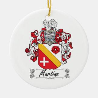 Escudo de la familia de Martine Ornatos