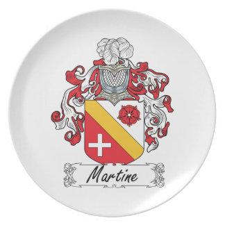 Escudo de la familia de Martine Plato