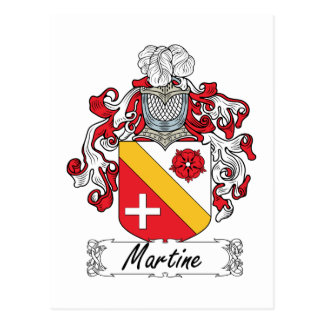 Escudo de la familia de Martine Postal