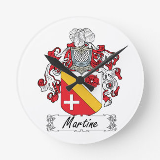 Escudo de la familia de Martine Reloj