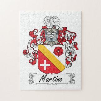 Escudo de la familia de Martine Rompecabeza