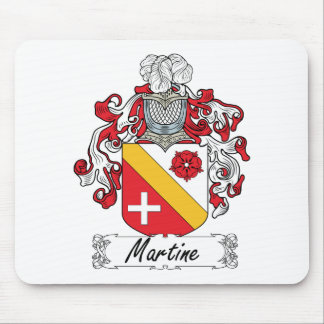 Escudo de la familia de Martine Tapetes De Ratón