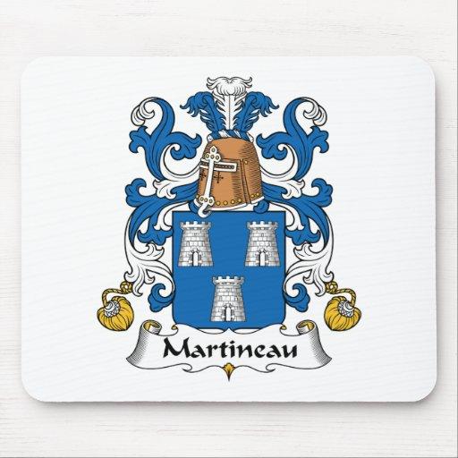 Escudo de la familia de Martineau Alfombrilla De Raton