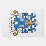 Escudo de la familia de Martineau Toalla